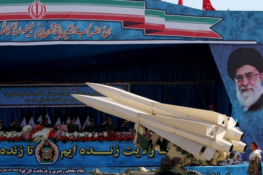 """Iran has claimed its missile programme is part of its """"absolute and legal right to build up the country's defensive capabilities"""" in the face of new US sanctions."""