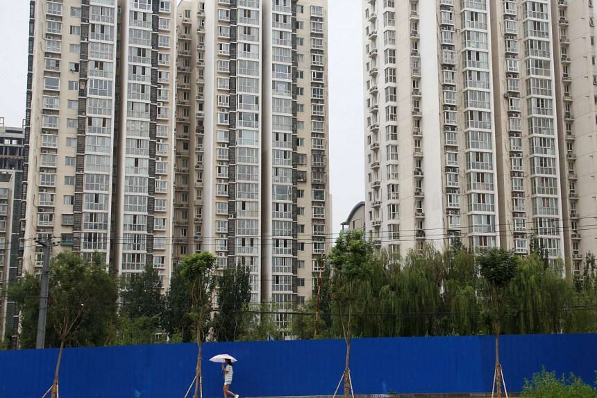 New-home prices fell in eight cities in China and were unchanged in four, according to the National Bureau of Statistics.