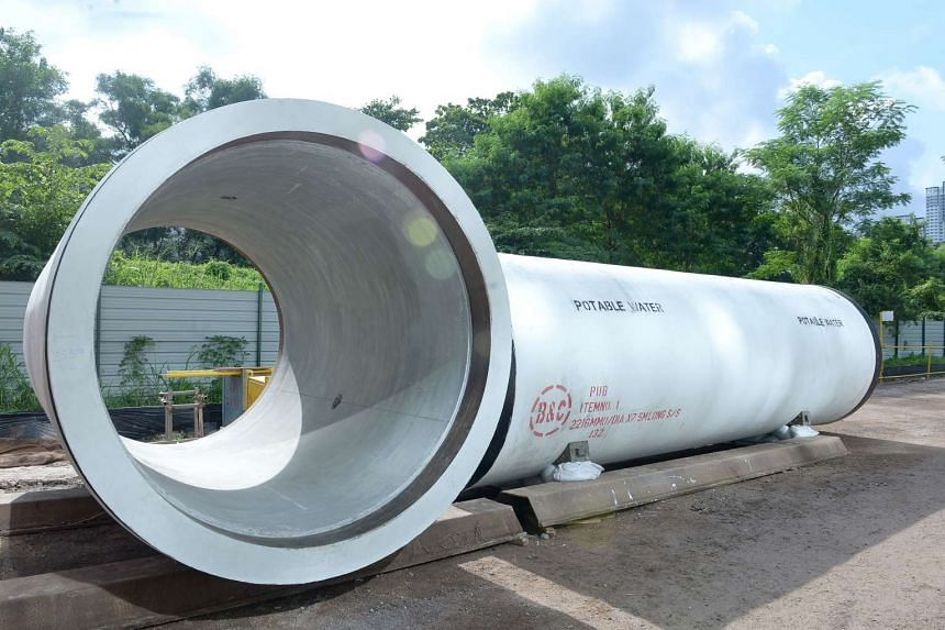 60km of new potable water pipelines, including one in Punggol, will be built underground over the next two years to meet demands from new developments.