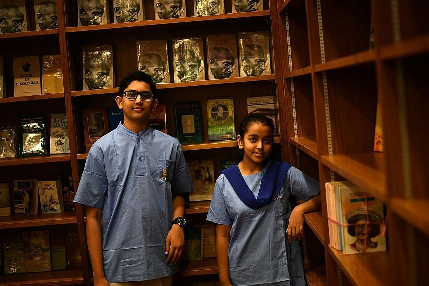 Putrevu Mihir Niyogi, 15 and Sania Shah, 14, are in the finals of a debate competition for secondary school and junior college students organised by The Hindi Society. Bollywood movies like romantic comedy Meri Pyaari Bindu and political crime thrill