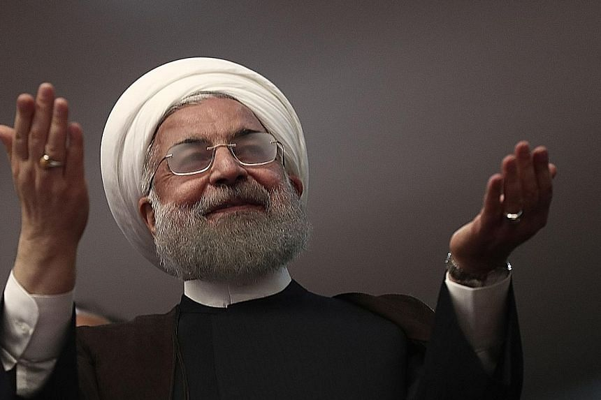 Iranian President Hassan Rouhani has presented himself as the candidate of change.