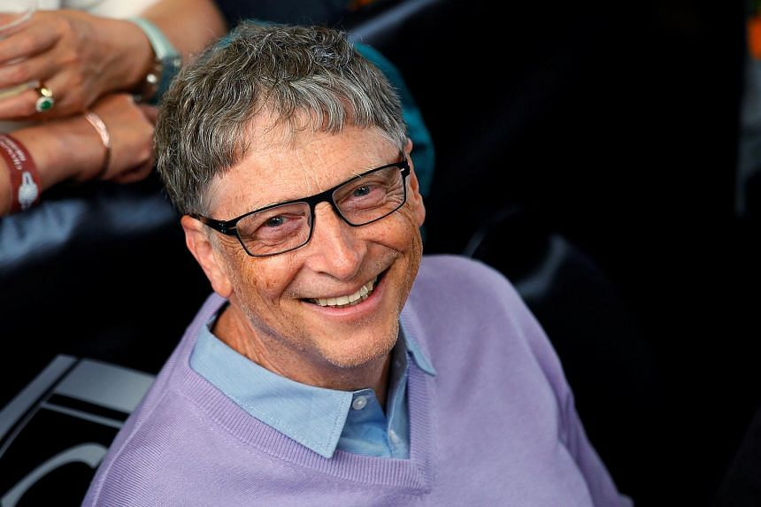 Bill Gates, the world's richest person with US$86.8 billion (S$120.79 billion), lost US$1 billion as shares of Microsoft, his largest holding, tumbled 2.8 per cent.