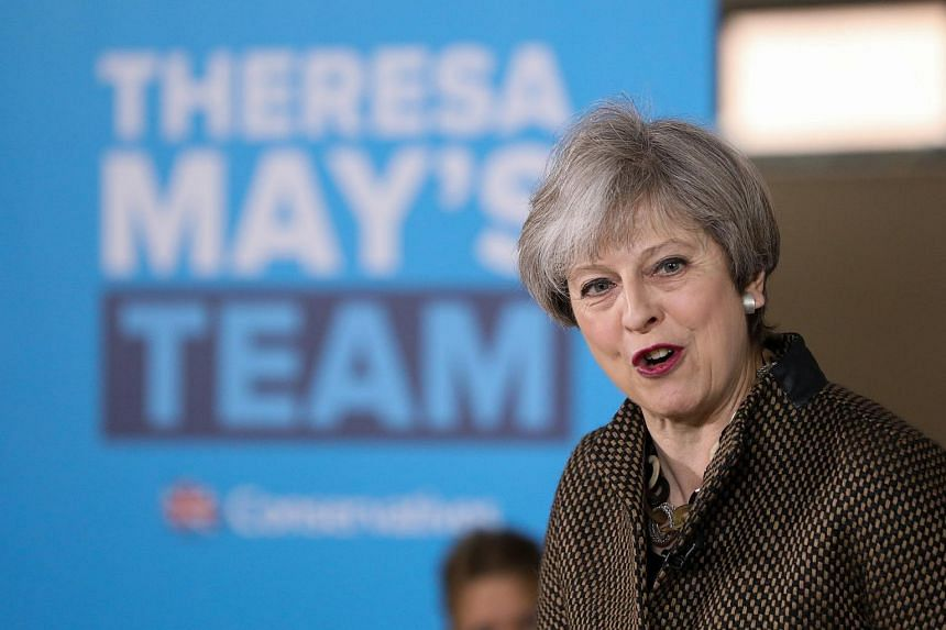 A poll conducted by marketing research firm Ipsos MORI has indicated a drop in support for British Prime Minister Theresa May's Conservative Party to 15 points ahead of the June 8 election.