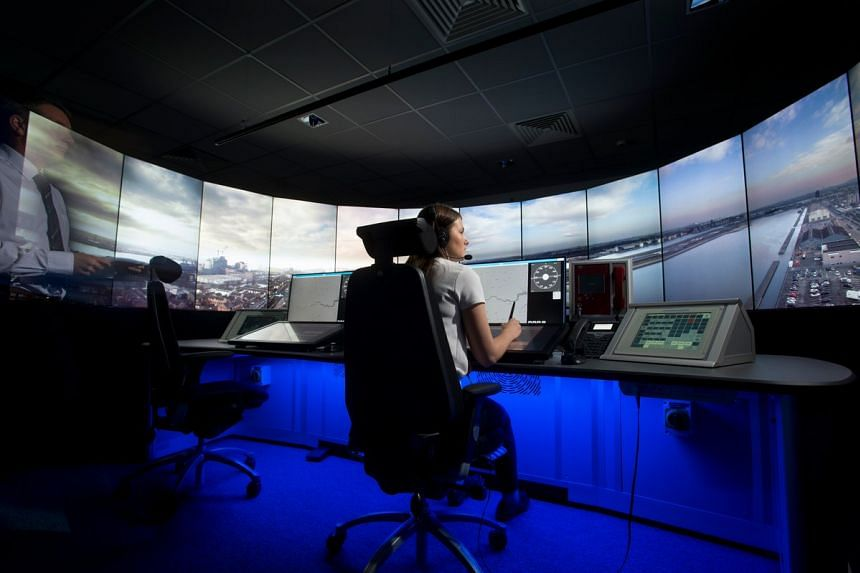 Staff will monitor planes with the help of high-tech 360-degree cameras and sensors fitted to a newly constructed tower.
