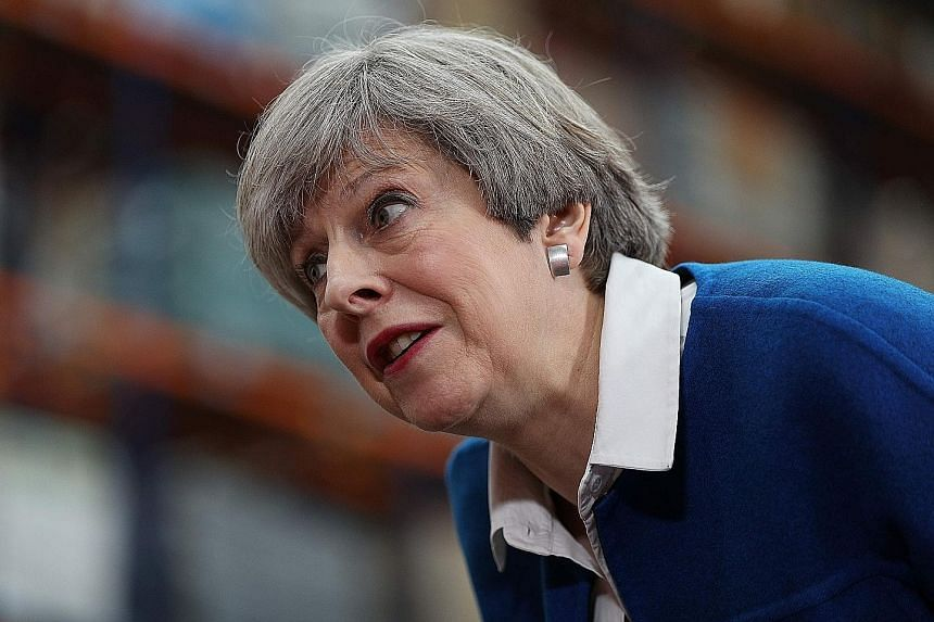British Prime Minister Theresa May's Conservative party manifesto also revealed tighter immigration rules and more worker protections.
