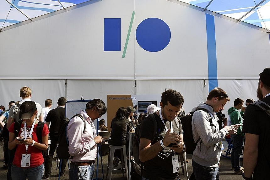 The application of Google's work in machine learning - a form of programming where computers become smarter by learning on their own - dominated the keynote address at the Google I/O 2017 developer conference on Wednesday in Mountain View, California