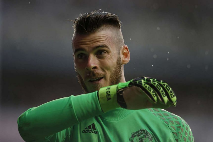The 26-year-old David de Gea has been linked to a move to Real Madrid.