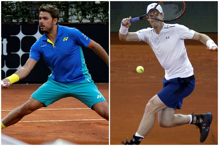 World No. 2  Novak Djokovic expects stiff competition from 2015 French Open champion Stan Wawrinka and world No. 1 Andy Murray at Roland Garros.