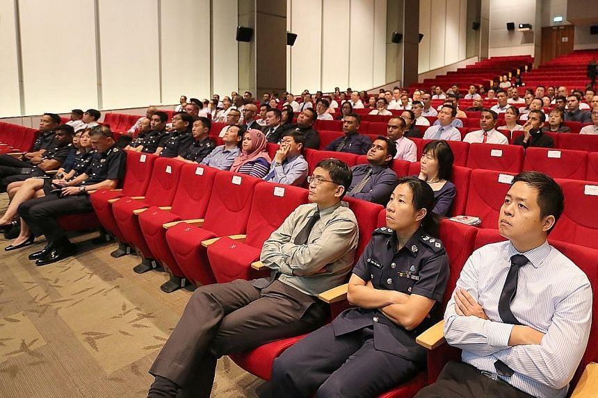 Some 200 participants from the hotel industry yesterday attended the Hotel Industry Safety and Security Watch Group's counter-terrorism seminar organised by the police and the Singapore Civil Defence Force.