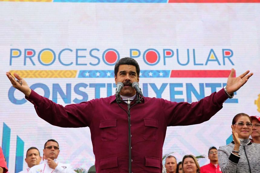 The new sanctions package was aimed at stepping up pressure on President Nicolas Maduro and his loyalists following a crackdown on street protests and efforts to consolidate his rule of the South American oil-producing country.