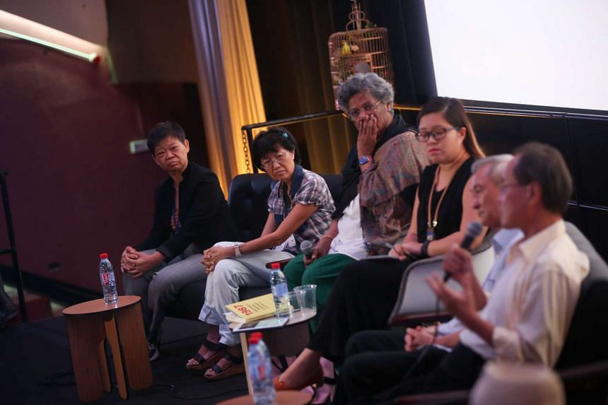 Four ex-detainees under the ISA mark the 30th anniversary of Operation Spectrum with a book launch at The Projector cinema on Sunday (May 21).