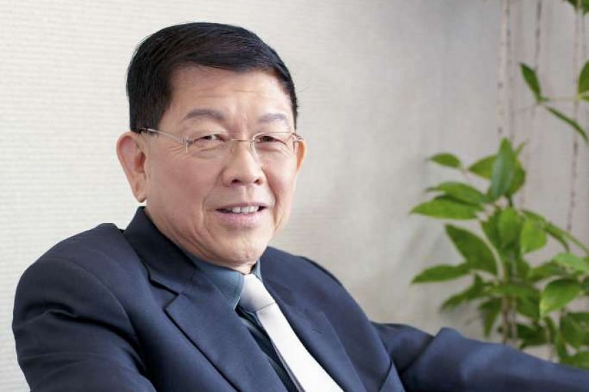 Former director of the National Institute of Education and horticulturalist Lee Sing Kong.
