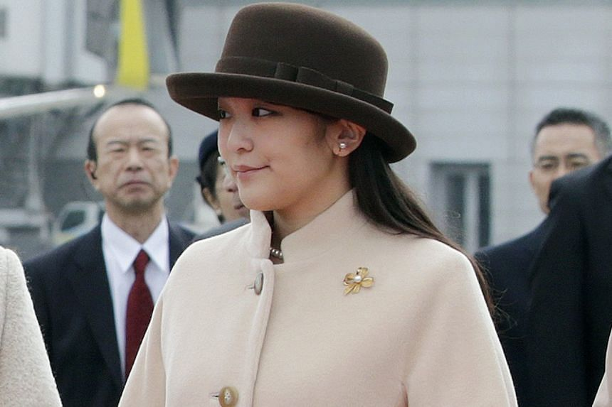 The five-year romance between Mr Kei Komuro and Princess Mako (above) culminated in a flurry of well wishes last week when news broke of their impending engagement.