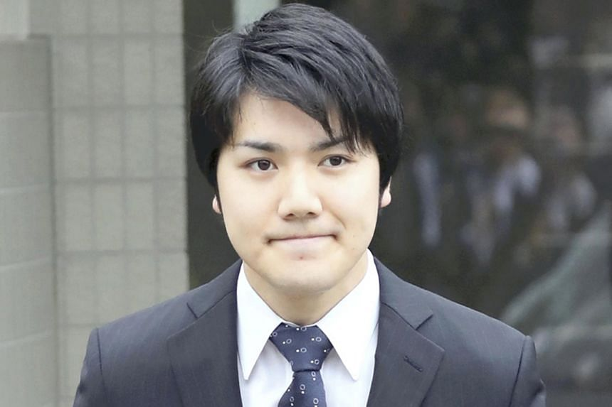 The five-year romance between Mr Kei Komuro (above) and Princess Mako culminated in a flurry of well wishes last week when news broke of their impending engagement.