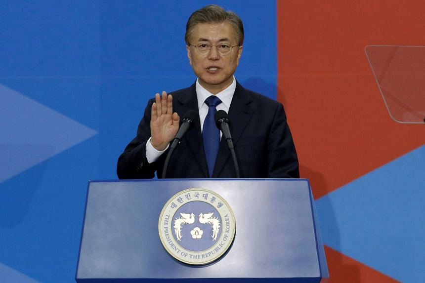 South Korean President Moon Jae In campaigned on a policy of engagement with North Korea.