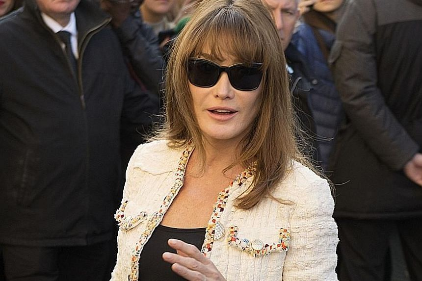Carla Bruni is releasing her first album in four years, French Touch.