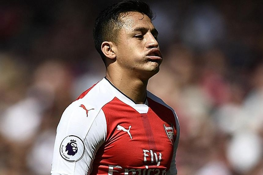 An air of despondency for Arsenal's Alexis Sanchez, as the Gunners just missed out on qualifying for next season's Champions League.