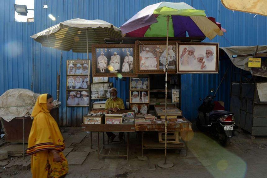 A Dawoodi Bohra woman in the Bhendi Bazaar area of Mumbai. Female genital mutilation is secretly carried out by the close-knit Dawoodi Bohra community.