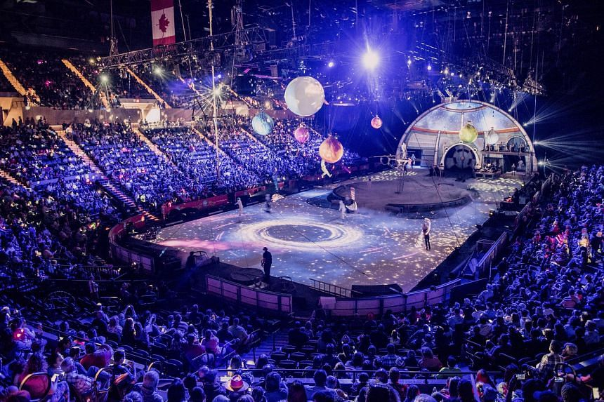 The final performance of the Ringling Brothers and Barnum & Bailey circus at the Nassau Veterans Memorial Coliseum on May 21.