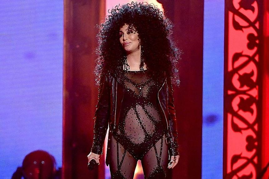 Cher performed two of her biggest hits - Believe and If I Could Turn Back Time - at the Billboard Music Awards on Sunday.