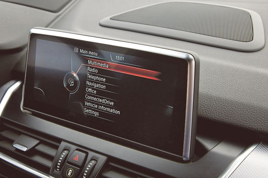 The BMW iDrive system makes it a breeze for Ms Gobi Nathan to control the multimedia and communication functions in the car.