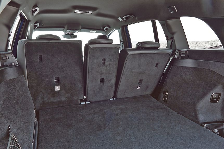 The car offers plenty of boot space — 560 litres with the seats up and a whopping 1,820 litres when the seats are folded.