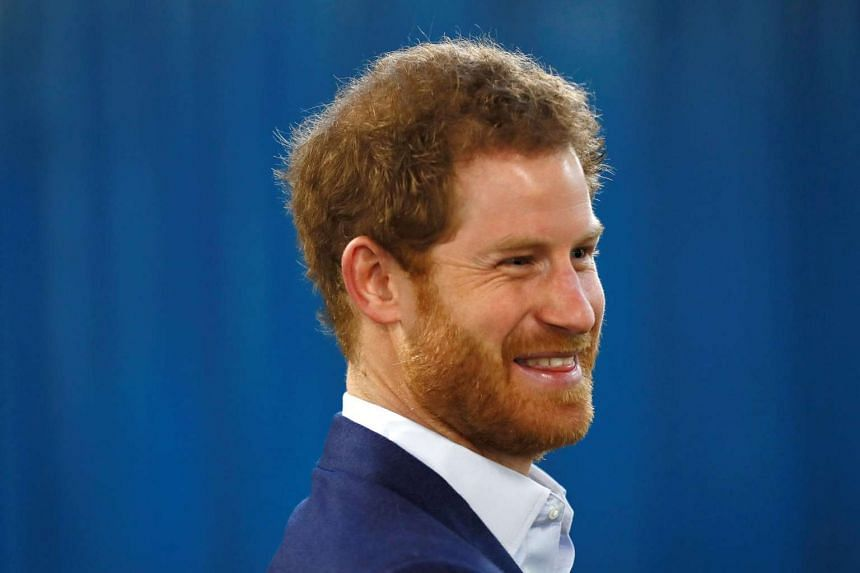 Prince Harry at an event in February 2017. Students in Germany complained about an English exam featuring a speech by him.