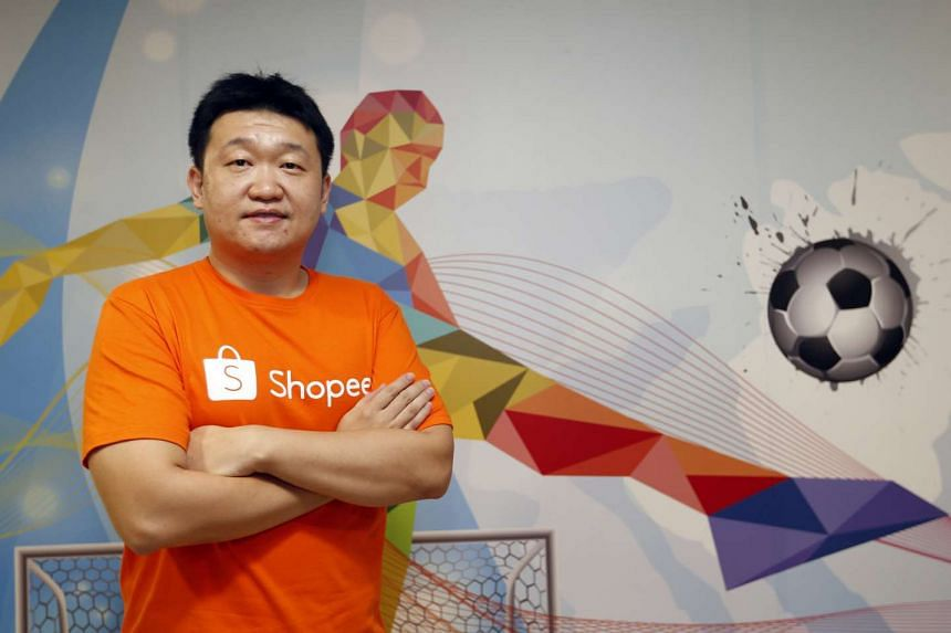 Forrest Li, founder of Singapore-based tech company Garena, which has been rebranded as Sea.