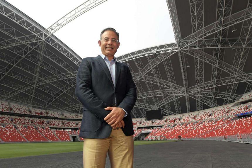 Sports Hub chief executive Manu Sawhney.