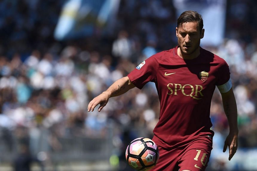 Roma legend Francesco Totti will be retiring after his final match against Genoa, having spent 25 years at the Stadio Olimpico.