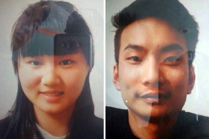 Two Chinese nationals Li Xinheng (L) and Lu Ling Lina were abducted by unknown armed men, in Quetta, the provincial capital of the restive province of Balochistan, Pakistan.