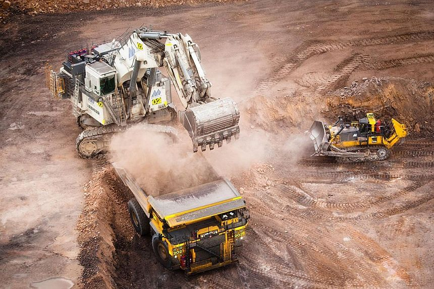 A Yancoal mine in Australia, partly owned by Noble. The commodity trader is in crisis over concerns about its ability to sustain its business and meet debt obligations.
