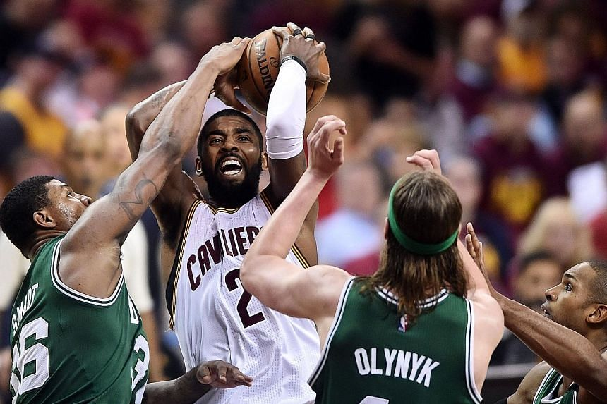 nouveau concept 519d3 6622b NBA: Irving steps up to puts Cavaliers up 3-1, Basketball ...