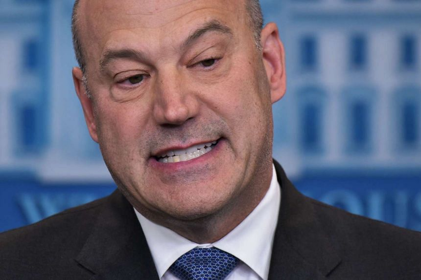 Trump's economic advisor Gary Cohn (above) said the levels that were agreed to by the prior administration would be highly crippling to the US economic growth.