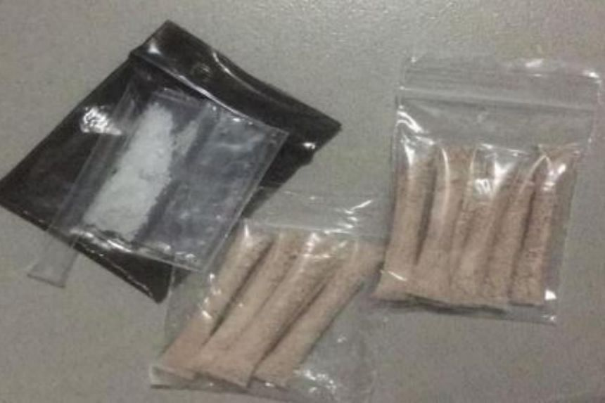 Examples of drugs seized during the island-wide operation between 15 to 26 May 2017.