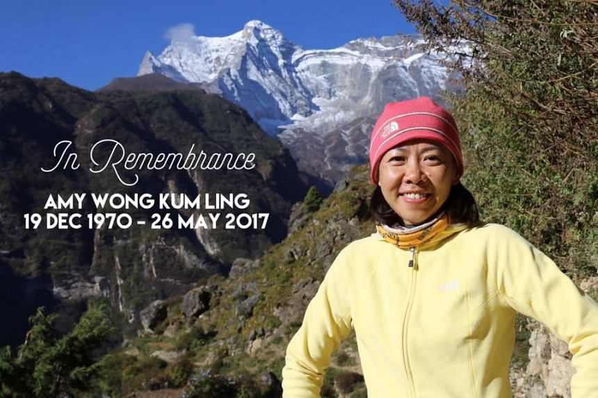 She was remembered by her friends. Mr Dennis Quek shared a photo of her on his Facebook page and said he was saddened by her death but consoled that she was doing what she loved most.