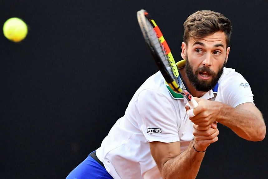 Frenchman Paire (above) is a gifted player who needs to be handled with care, says Nadal.