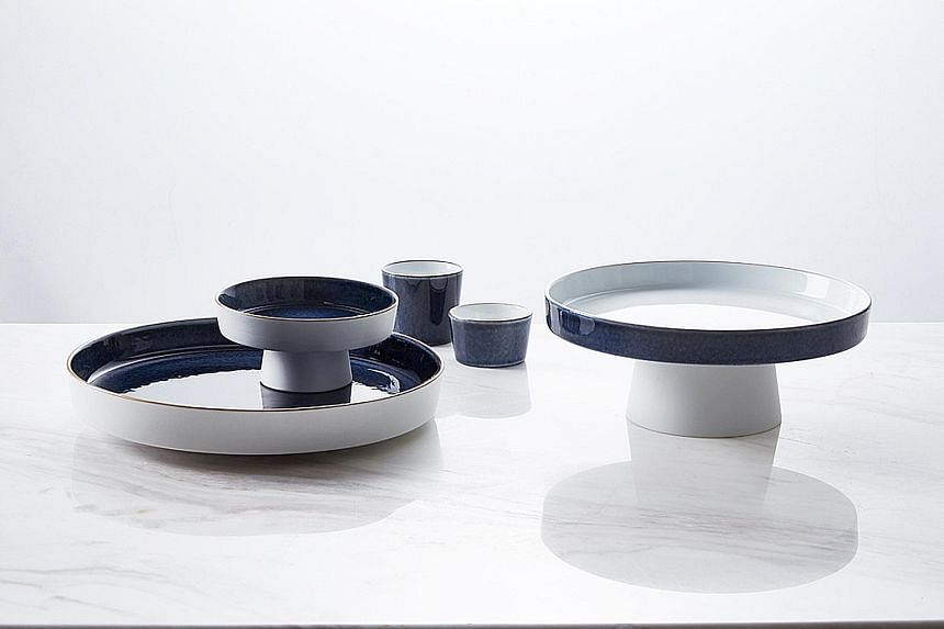 New porcelain collection.