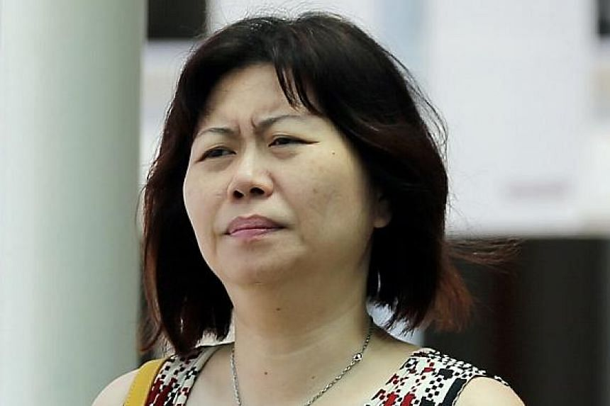 Chua Siew Peng had slapped her maid and kept the Filipina locked in her sister's Bukit Timah condo.