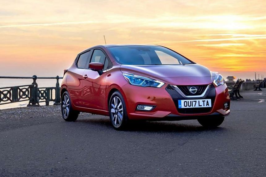 Nissan new Micra (above).