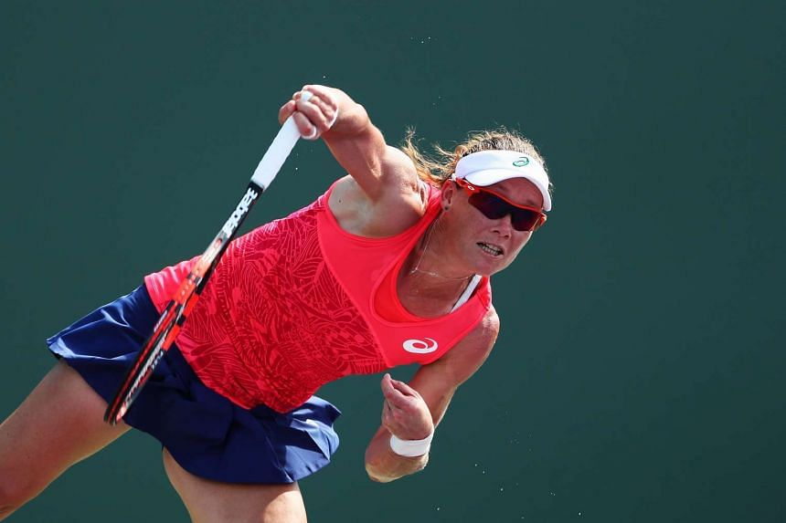 Stosur, 33 (above), has held the top ranking for 450 weeks.