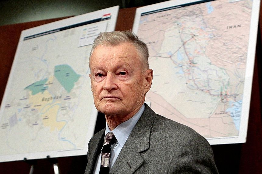 Mr Zbigniew Brzezinski, a tough critic of the Soviet Union, served as former US president Jimmy Carter's national security adviser.