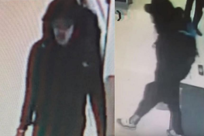 The photographs taken from CCTV footage show Abedi carrying a backpack.