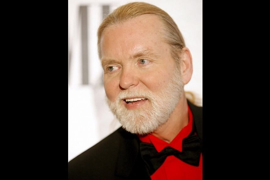 US singer-songwriter Greg Allman at a music event in 2006.