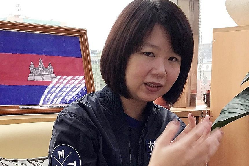 Ms Lin Li-chan arrived in Taiwan from Cambodia in 1997 and raised her two children at her husband's family home in central Changhua county. Since becoming a lawmaker, she has lobbied successfully for restrictions to be eased for foreign spouses to be
