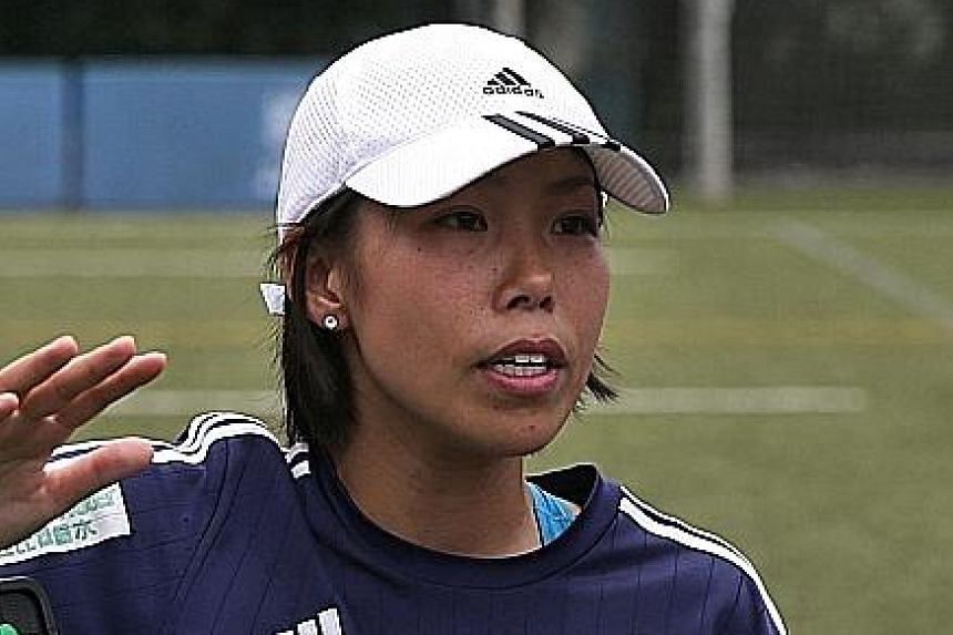 Former Eastern coach Chan Yuen Ting feels that she lacks experience at the top level and is studying to advance to the next level of coaching.