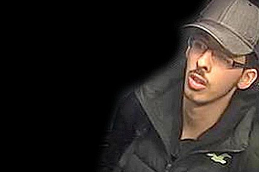 Salman Abedi, the Manchester suicide bomber, captured on CCTV footage on the night of the attack. The public has been told to stay vigilant against further attacks.