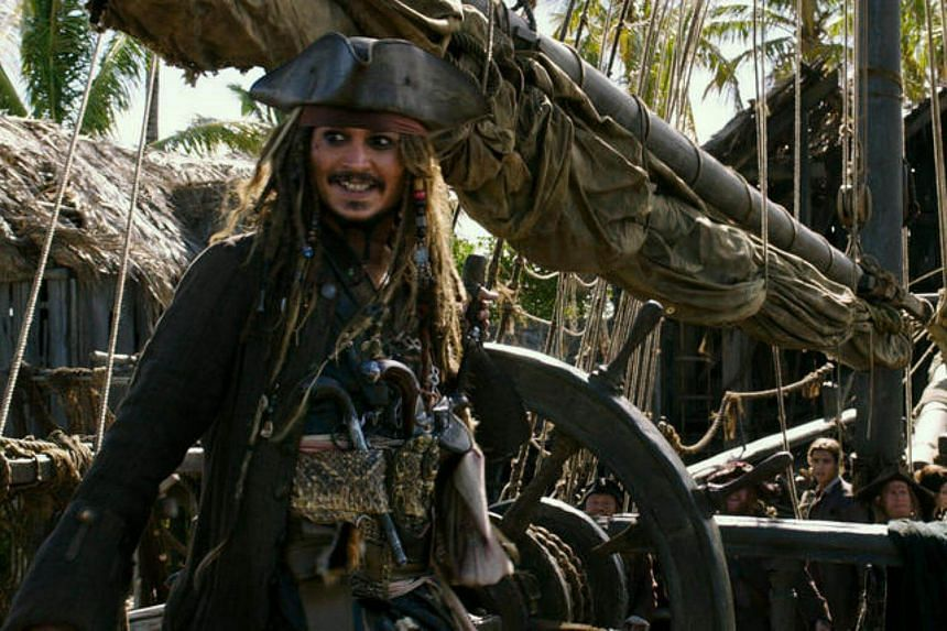 Johnny Depp's fifth outing as Jack Sparrow is looking at a four-day domestic holiday weekend sum of US$77 million (S$106 million).