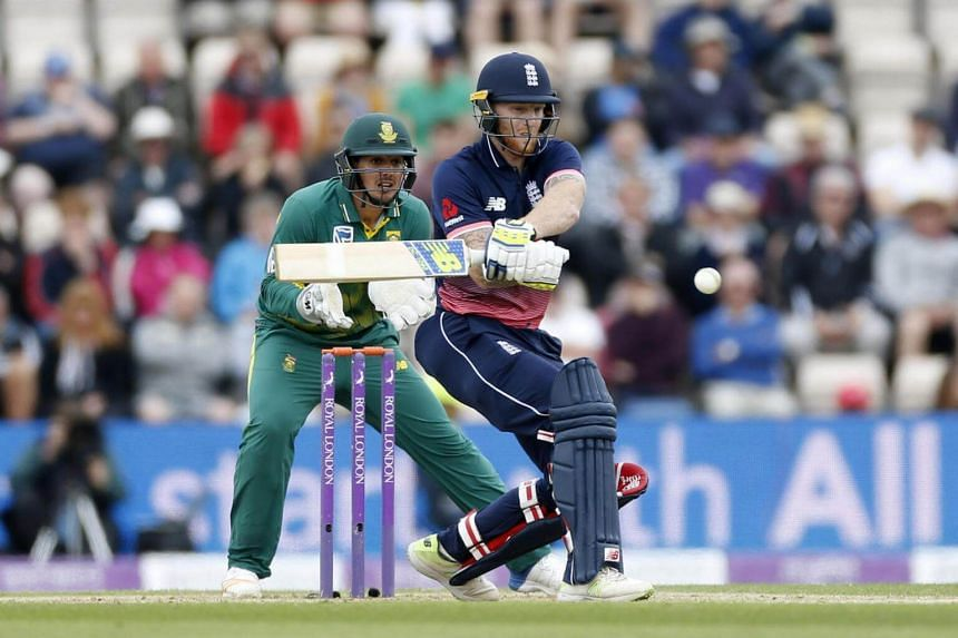England's Ben Stokes in action.