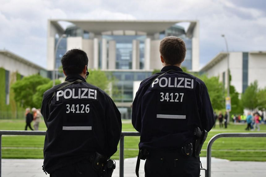 The German police were tipped off about the suspect's intent by his family members.